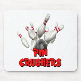 Pin Crushers Bowling Mouse Pad