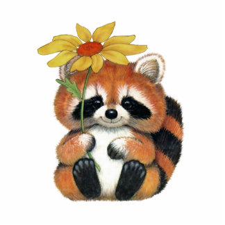 """Pin for clothes """"Raccoon """" Photo Sculpture Badge"""