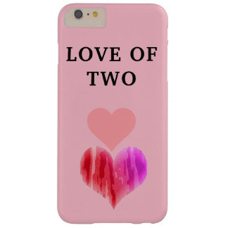 PIN HEARTS LOVE OF TWO iPhone / iPad case