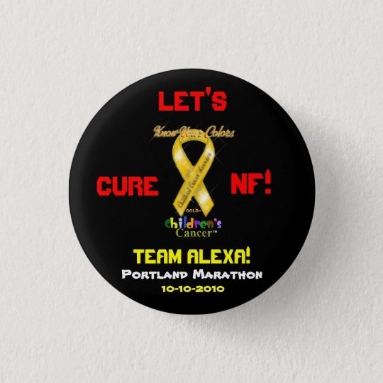 PIN - LET'S CURE NF! TEAM ALEXA!, 10-10-2010