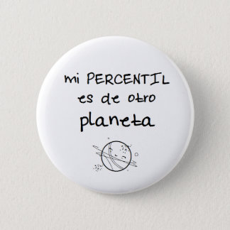 Pin of percentile is of another planet