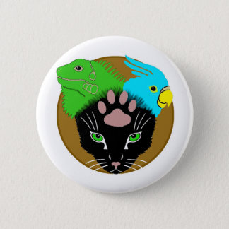Pin-On Badge - BeastMastery