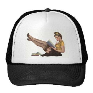 Pin up cap