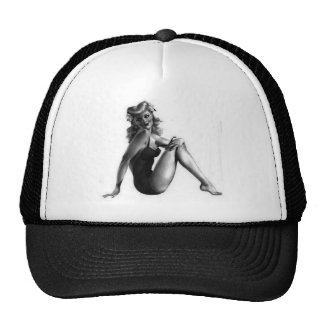 Pin Up Design! Trucker Hats