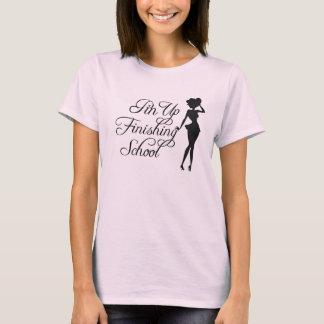 Pin Up Finishing School Women's Baby Doll T-Shirt