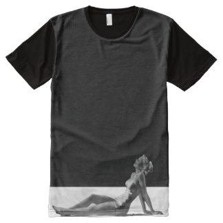 Pin Up Girl All-Over Print T-Shirt
