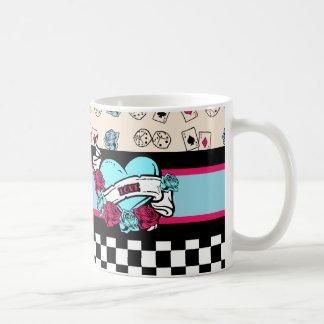 Pin-up Girl, Rock-A-Billy Coffee Mug