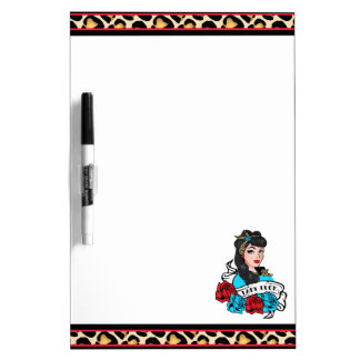 Pin-up Girl, Rock-A-Billy Dry-Erase Boards