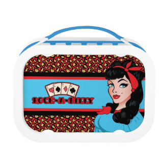 Pin-up Girl, Rock-A-Billy Lunchboxes