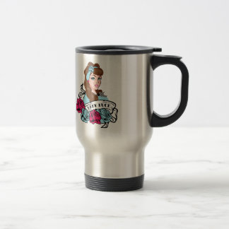 Pin-up Girl, Rock-A-Billy Stainless Steel Travel Mug