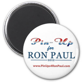 PIn-ups for Ron Paul magnet!