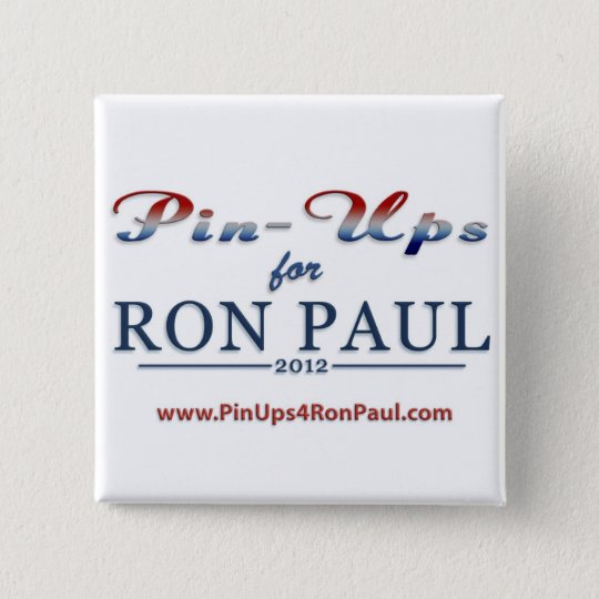 PIn-Ups for Ron Paul Sq Button