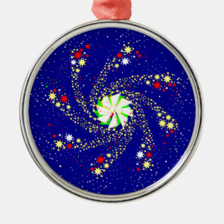 Pin Wheel Christmas Ornament
