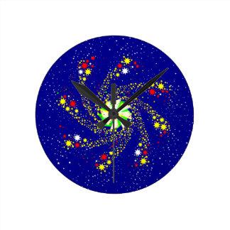 Pin Wheel Wallclock