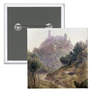 'Pina Cintra', Summer Home of the King of Portugal 15 Cm Square Badge