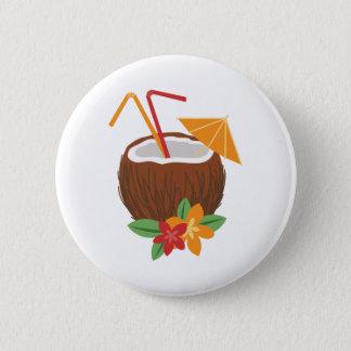 Pina Colada Coconut 6 Cm Round Badge