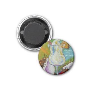 Piña Colada & Coconut Bachelorette Party Magnet
