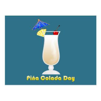 Piña Colada Day Postcard