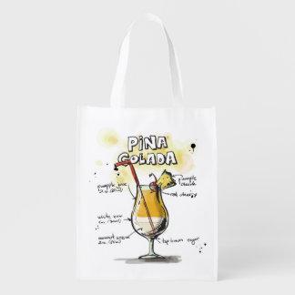 Pina Colada Drink Recipe Design