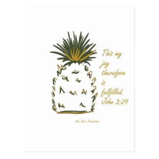 Pinapple of Joy Postcard