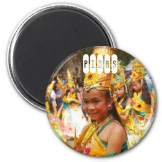Pinas Philippines 6 Cm Round Magnet