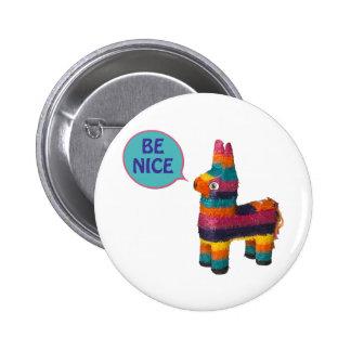 Piñata 6 Cm Round Badge