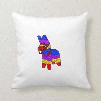 Piñata Cartoon Mexico Fiesta Horse Cushion