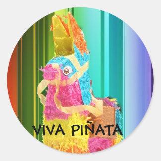PINATA copy, VIVA PIÑATA Classic Round Sticker
