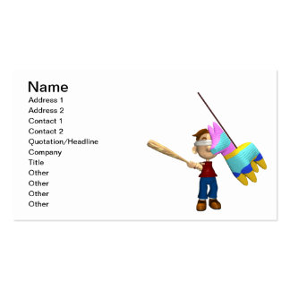 Pinata Pack Of Standard Business Cards