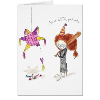 Pinata Tarjeta Greeting Card