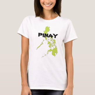 PINAY with Philippines map T-Shirt