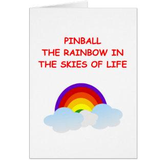 pinball cards