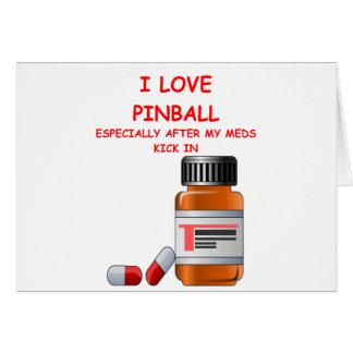 pinball greeting cards