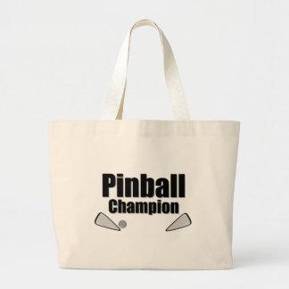 Pinball Champion Canvas Bag