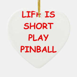 pinball christmas ornament