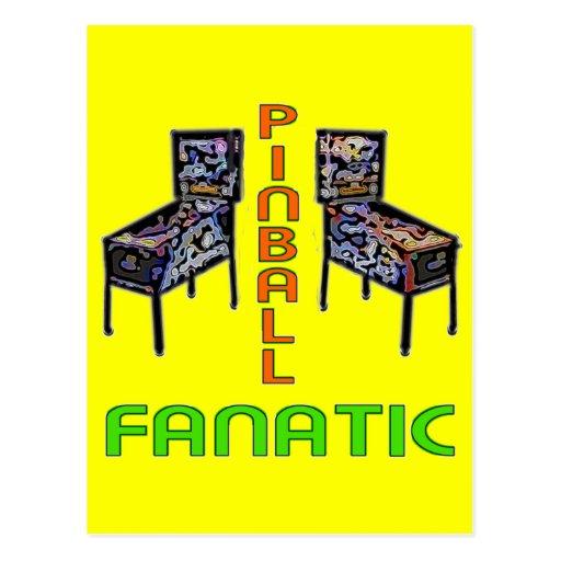 Pinball Fanatic Post Card