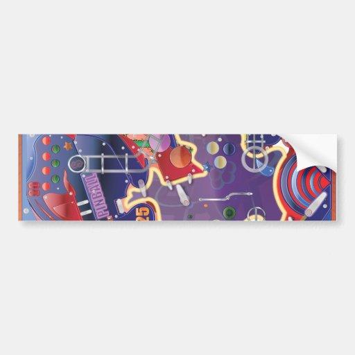 Pinball Machine Bumper Stickers