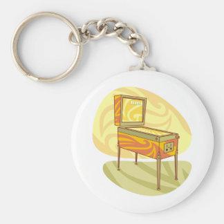 Pinball machine key ring