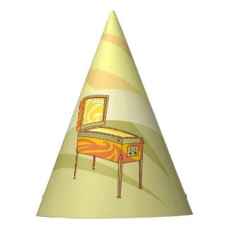 Pinball machine party hat
