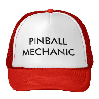 PINBALL MECHANIC CAP