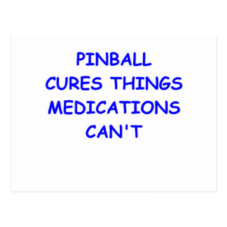 pinball postcards