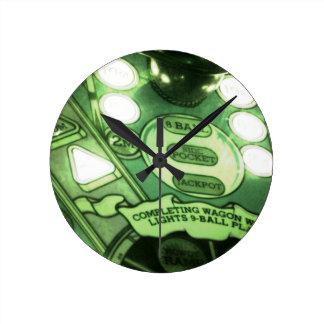 Pinball Round Clock