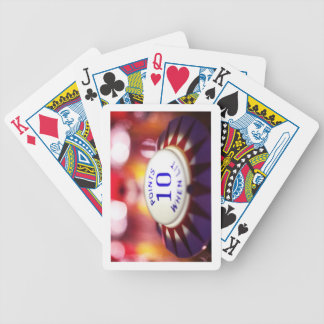 Pinball wizard bicycle playing cards