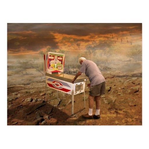 Pinball Wizard Post Card