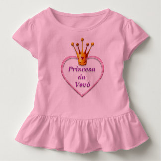 Pincesa Blusinha of vovo Toddler T-Shirt