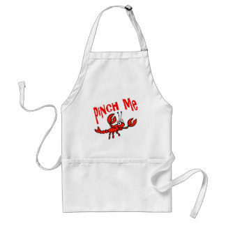 Pinch Me Crawfish Crayfish Cartoon Apron