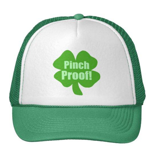 Pinch Proof! Cap