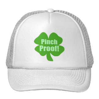 Pinch Proof! Mesh Hats