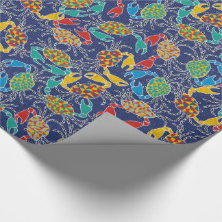 Pinching Ocean Crabs Gift Wrap Wrapping Paper