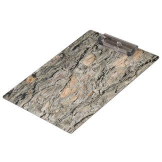 Pine Bark Clipboard